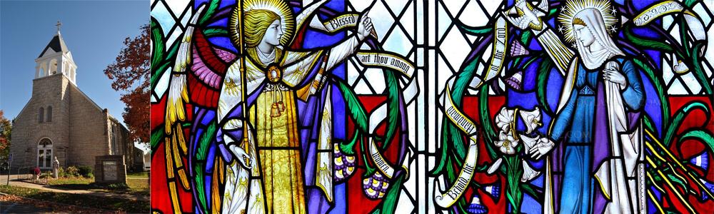Frankfort Annunciation Banner