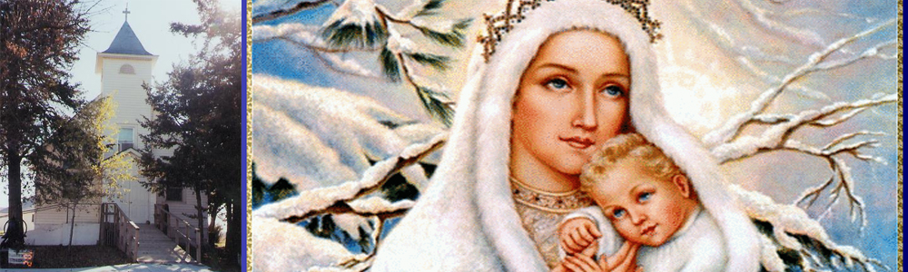 Mayetta Our Lady of Snows Banner