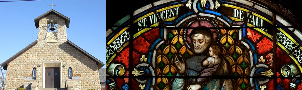 Onaga St Vincent de Paul Church Banner